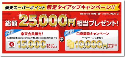 外為ジャパンキャンペーン7月