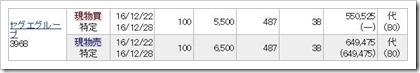 セグエグループ(3968)IPOセカンダリ