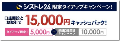 インヴァスト証券タイアップキャンペーン