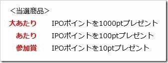 エイチ・エス証券開運スクラッチ当選商品