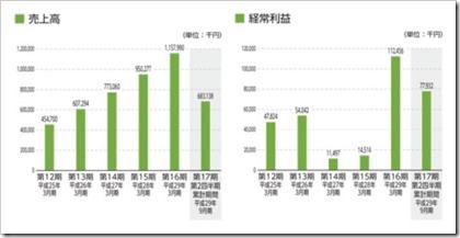 イオレ(2334)IPO売上高及び経常利益