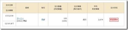 ジーニー(6562)IPO売却