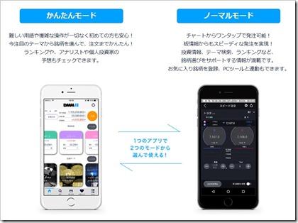 DMM株スマホアプリ