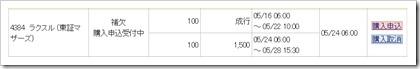 ラクスル(4384)IPO補欠みずほ証券
