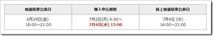 MTG(7806)IPO補欠分繰上抽選結果公表日時(野村證券)