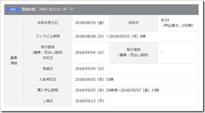 香陵住販(3495)IPO岡三オンライン証券