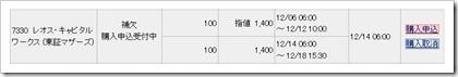 レオス・キャピタルワークス(7330)IPO補欠当選