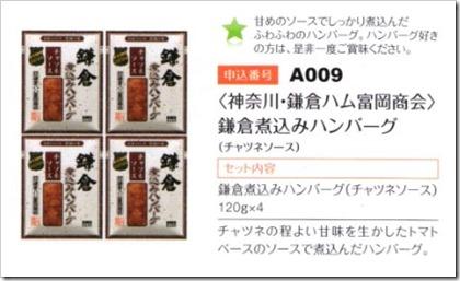 鎌倉煮込みハンバーグ
