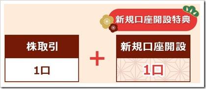SMBC日興証券キャンペーン新規口座開設特典