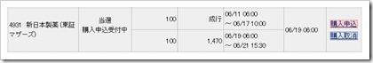 新日本製薬(4931)IPO当選