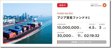 COOL(クール)第一号アジア貿易ファンド1
