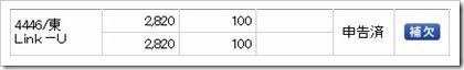 Link-U(4446)IPO補欠
