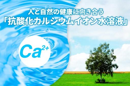 抗酸化カルシウムイオン水溶液オリーブ技研