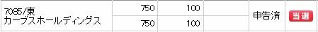 カーブスホールディングス(7085)IPO当選