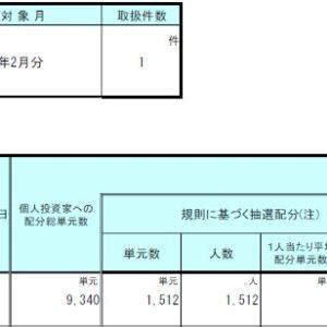 ジモティー(7082)IPO大和証券配分