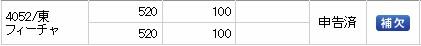 フィーチャ(4052)IPO補欠SMBC日興証券