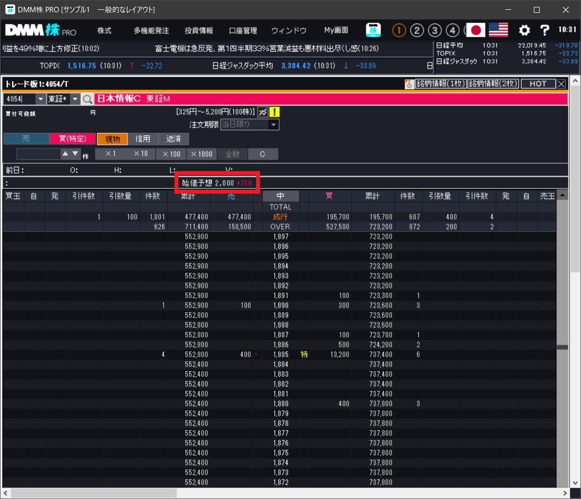 日本情報クリエイト(4054)IPOフル板