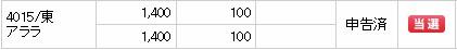 アララ(4015)IPO当選SMBC日興証券