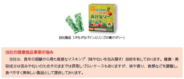 室町ケミカル(4885)IPO健康食品事業