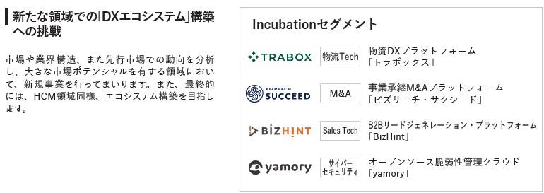 ビジョナル(4194)IPOIncubationセグメント