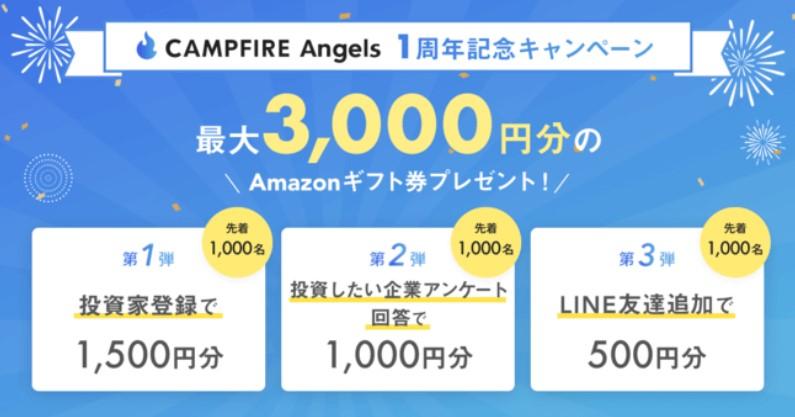 CAMPFIRE Angelsキャンペーン