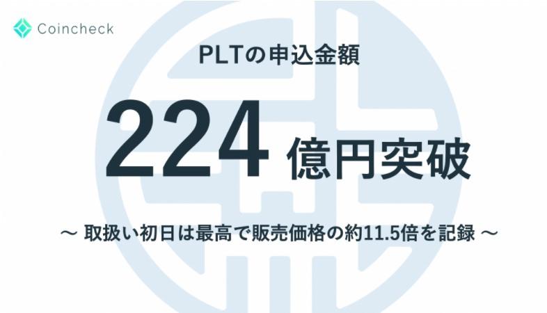 Palette Token(パレット・トークン)224億円