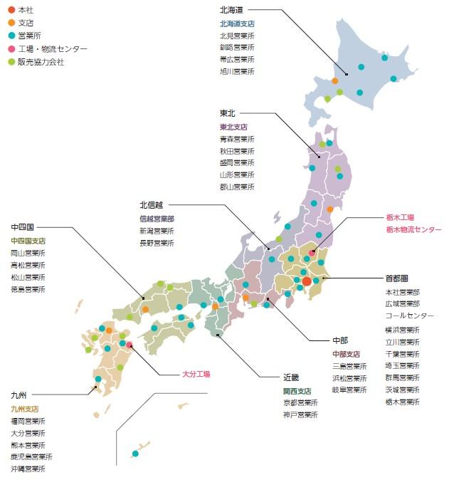 日本調理機(2961)IPO販売・施工部門