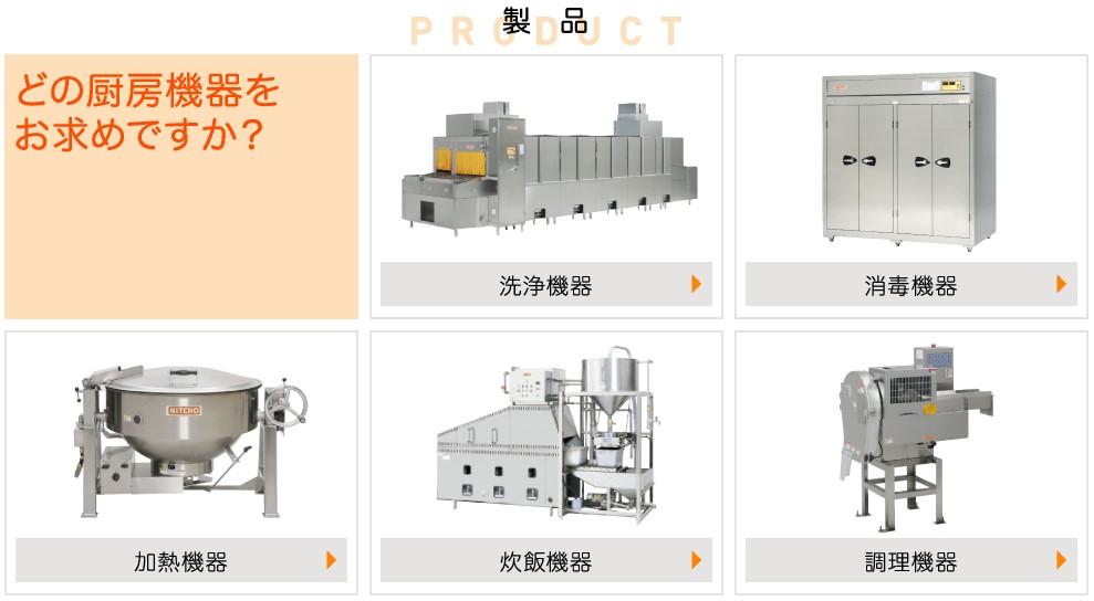 日本調理機(2961)IPO製品